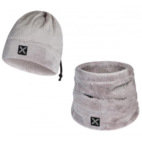 Bonnet tour de cou 2 en 1 COLLAR POLAR CAP dust-rose Montura