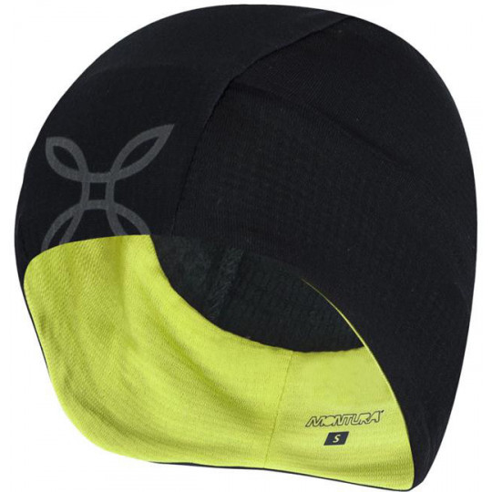 Bonnet WINTER CAP 9047 noir-lime Montura