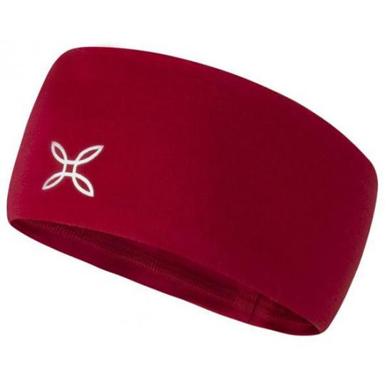 Bandeau laine Mérinos MERINO BAND 10 rouge Montura
