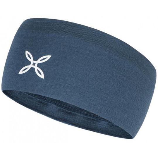 Bandeau laine Mérinos MERINO BAND 86 cenere-blue Montura