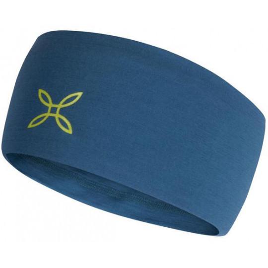 Bandeau laine Mérinos MERINO BAND 8347-bleu-lime Montura
