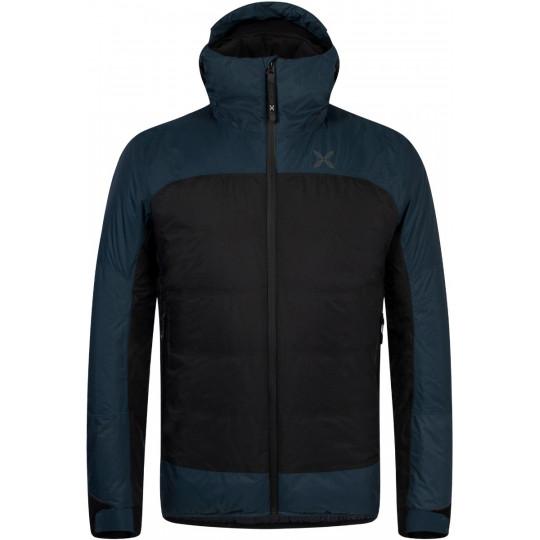Doudoune à capuche MANASLU 2 DUVET 9086 noir-bleu Montura