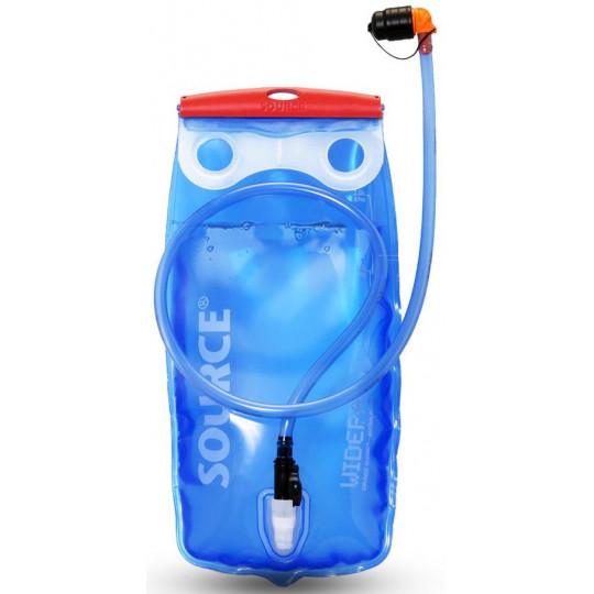 Poche à eau hydratation WIDEPAC 1.5L bleu-rouge SOURCE Outdoor