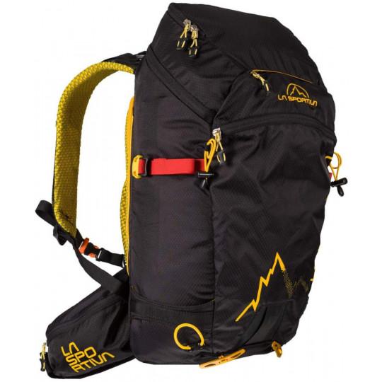 Sac à dos ski de rando MOONLITE Backpack noir-jaune La Sportiva