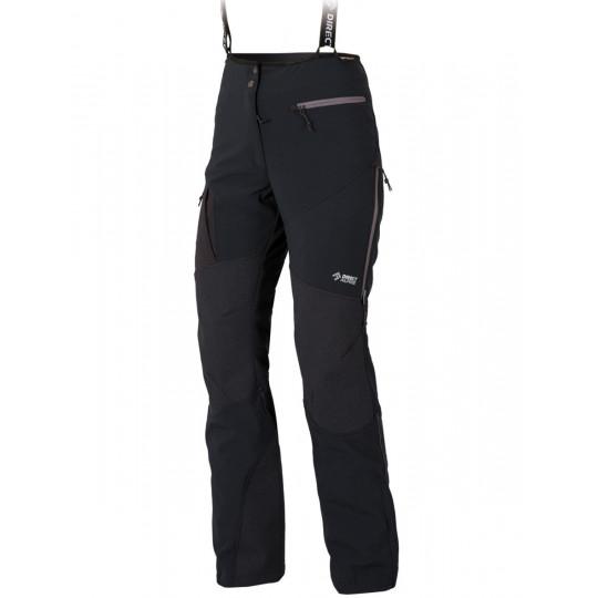 Pantalon femme Couloir Plus Lady noir DirectAlpine