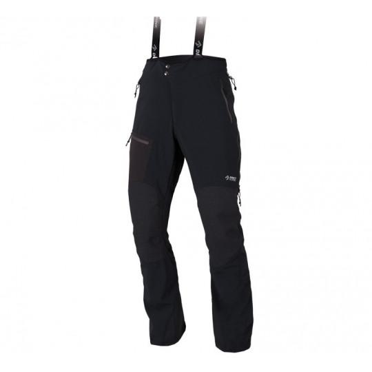 Pantalon softshell homme Couloir Plus noir-anthracite Directalpine