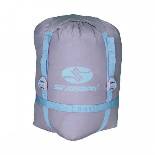 Housse de compression sac couchage COMPRESS BAG gris-bleu SirJoseph