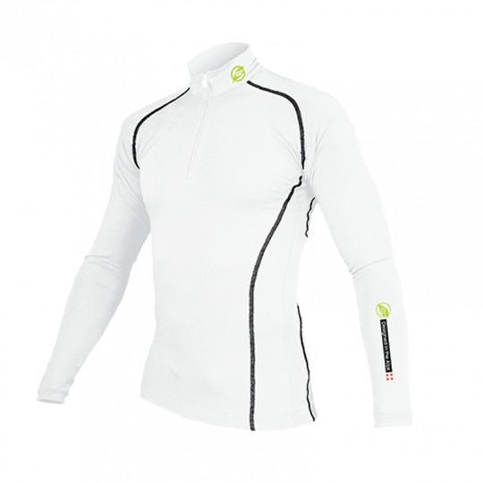 Tee-shirt fibre de bois 240 POINTE BLANCHE blanc-noir Natural Peak