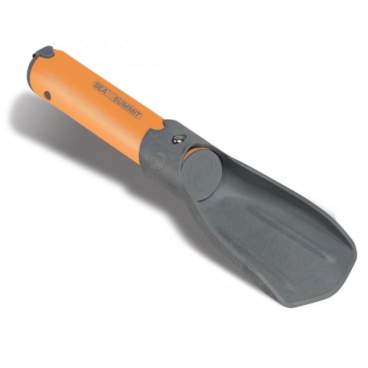 Mini pelle retractable POCKET TROWEL orange-gris SeaToSummit