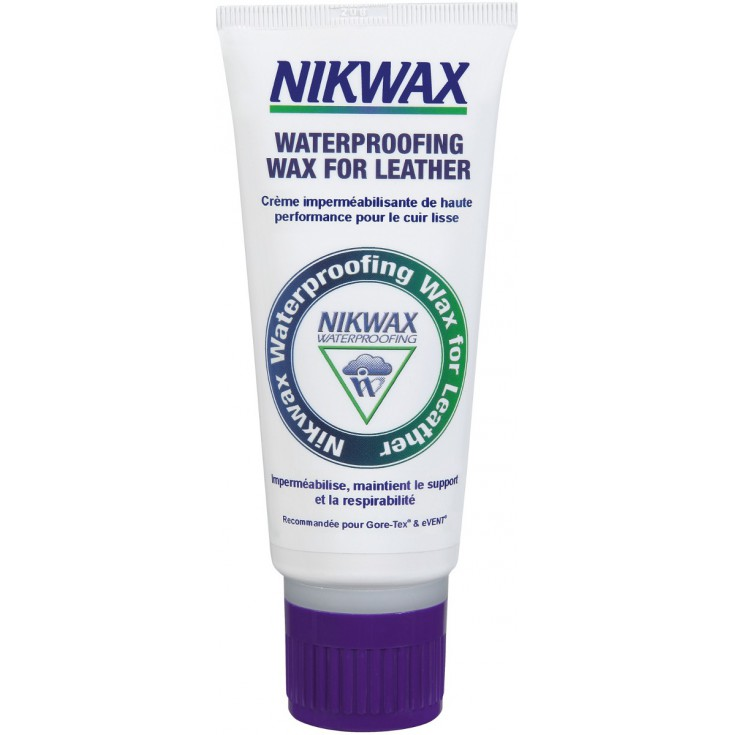 Crème chaussures en cuir 100ml Waterproffing Wax For Leather Nikwax