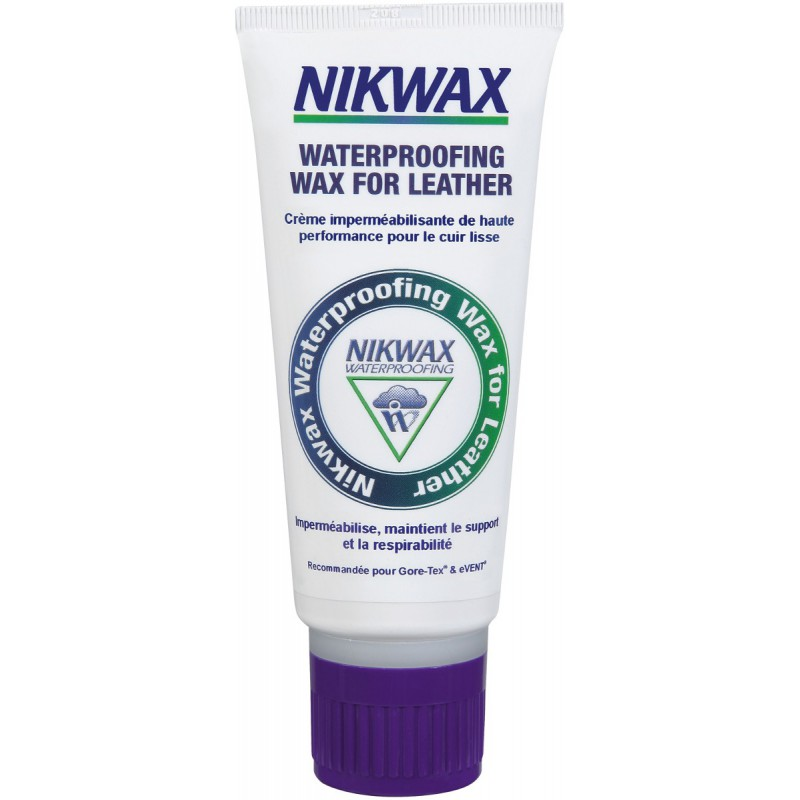 how to use nikwax waterproofing wax for leather