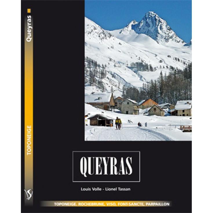 Livre Toponeige Ski de Rando Queyras - Editions Volopress