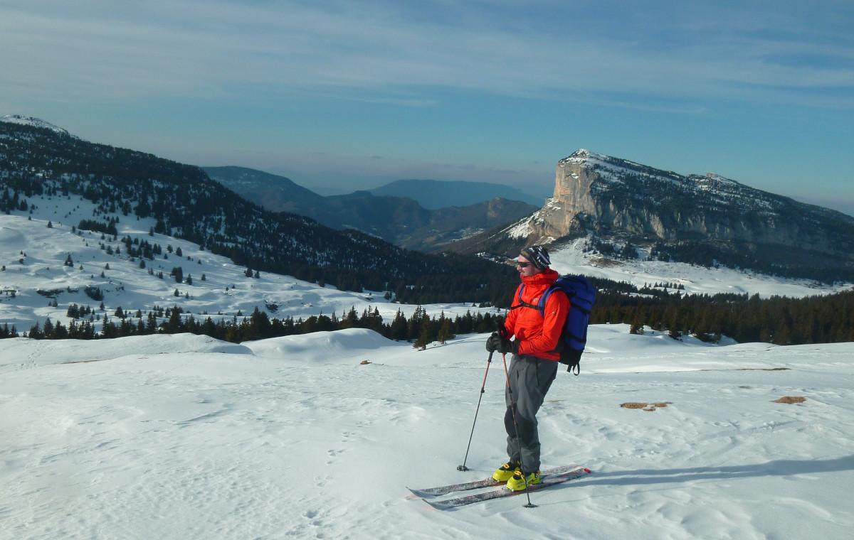 Greg ski de rando