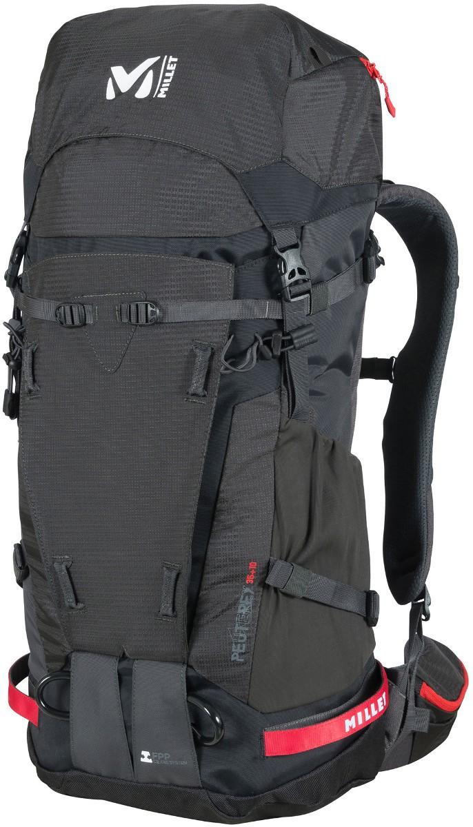 b5f2acf8afdf Le sac à dos Millet Peuterey Intégrale 35+10 est un sac à dos de montagne  et alpinisme renforcé avec une poche crampons sur l avant pour les courses  sur 2 3 ...